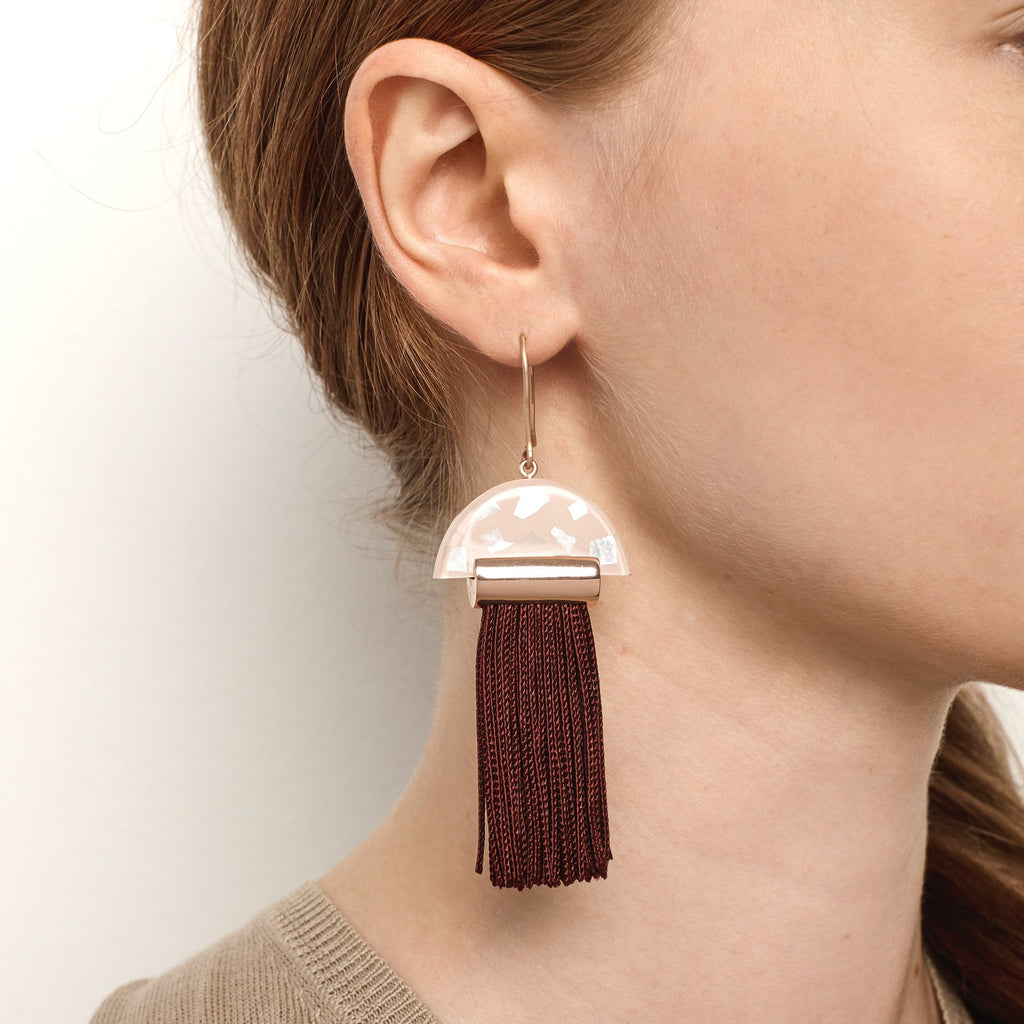 Gravity Tassel Earring
