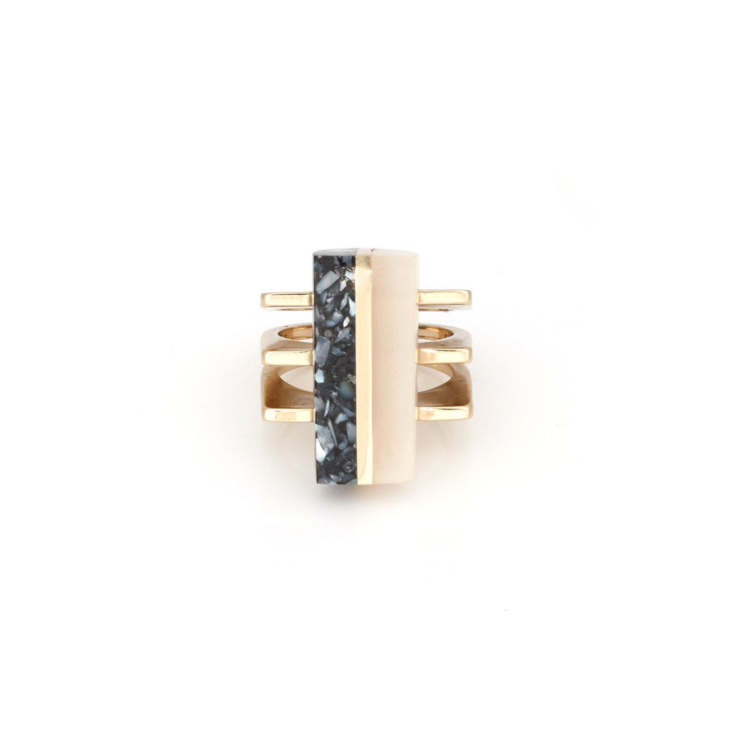 Modern Resin Statement Ring