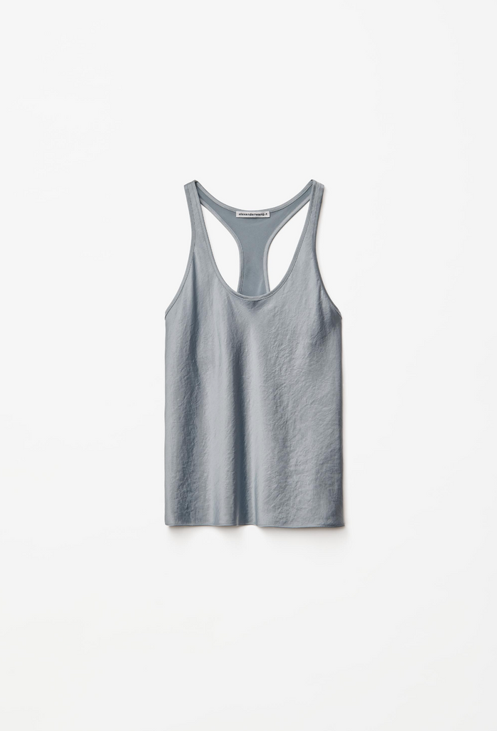 T by Alexander Wang - Wash Go Racer Back Tank
