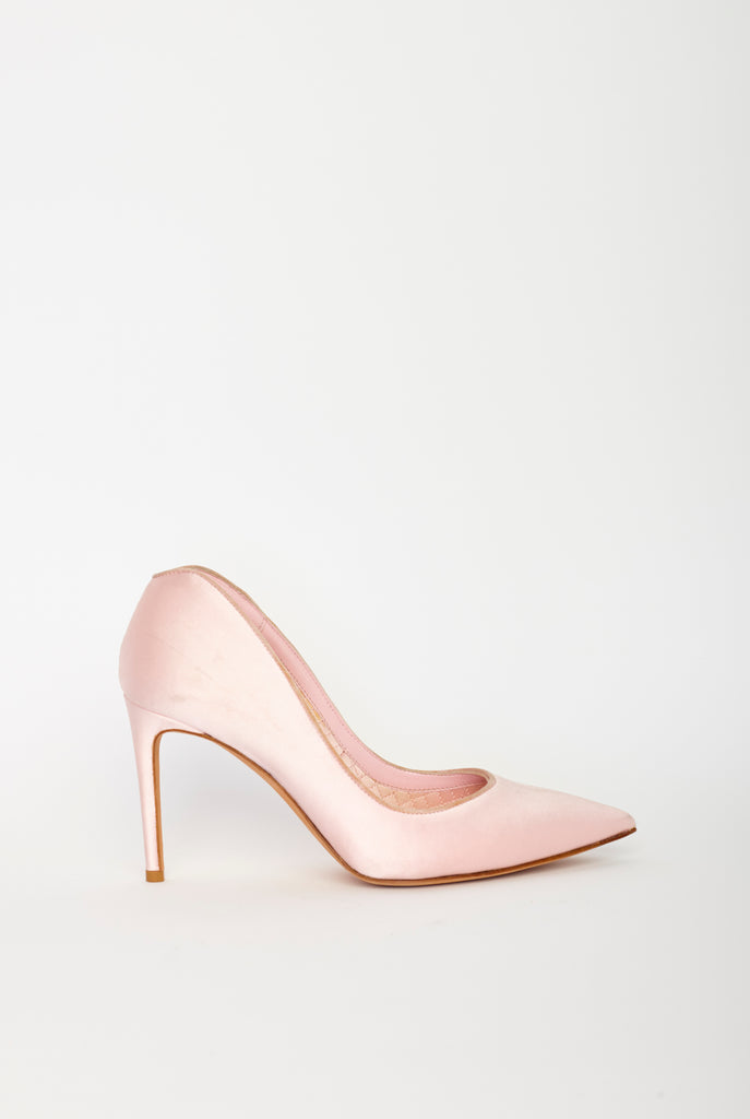 Alexander McQueen - Rose Heart Pumps