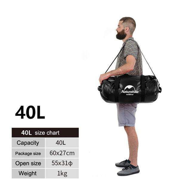 40L/60L/90L/120L Floating Dry Bag for Swimming & Diving
