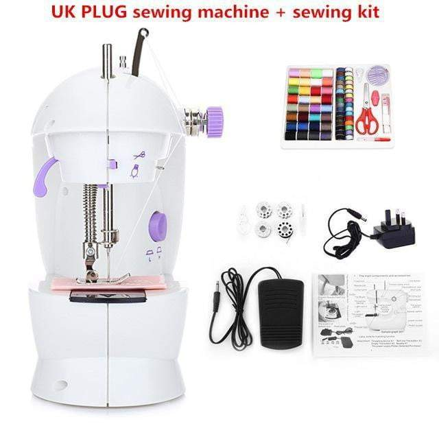 Mini Electric Handheld Sewing Machine with Dual Speed Adjustment