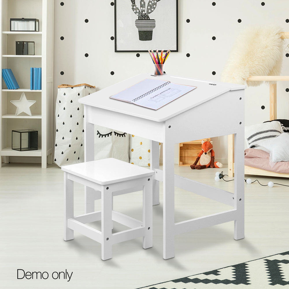 Lift top Desk & Stool