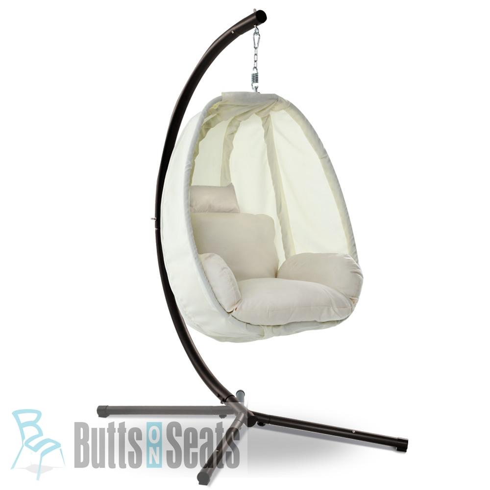 Papa Foldable Hanging Egg Chair with Frame