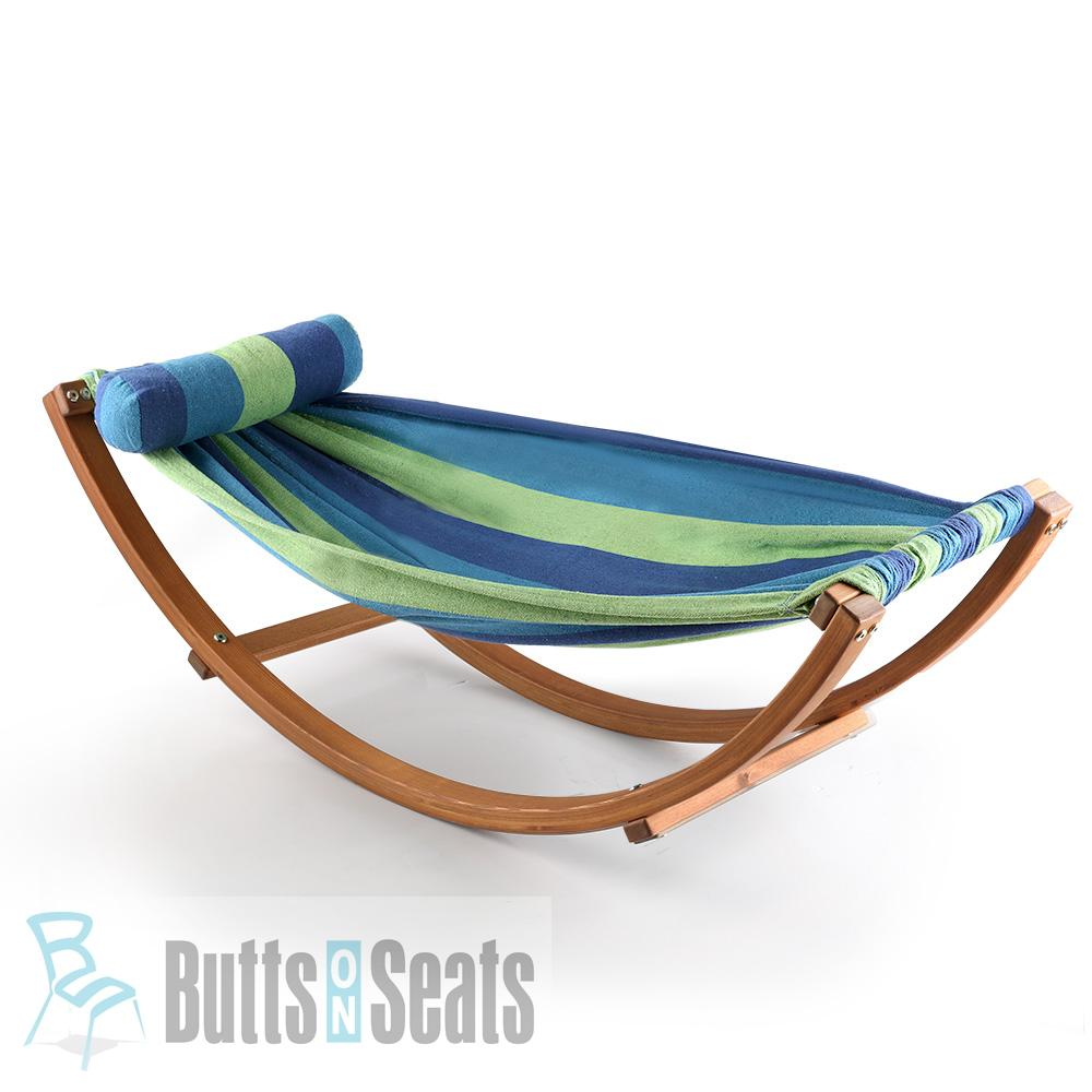 Echo Kids Hammock with Wooden Hammock Stand