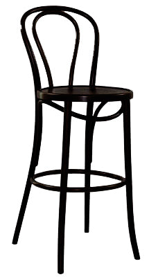 Princess 75cm Bentwood Bar Stool - Made in Poland since 1881