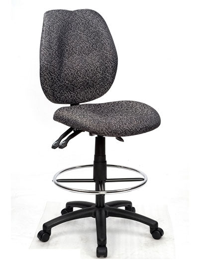 Sabina Office Chair With Drafting Ring
