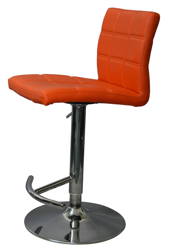 Como Gas Lift Stool Orange