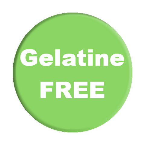 Gelatine-free-food-label