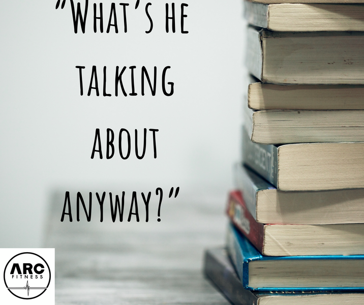 """What's he talking about?""- Addiction Terminology"