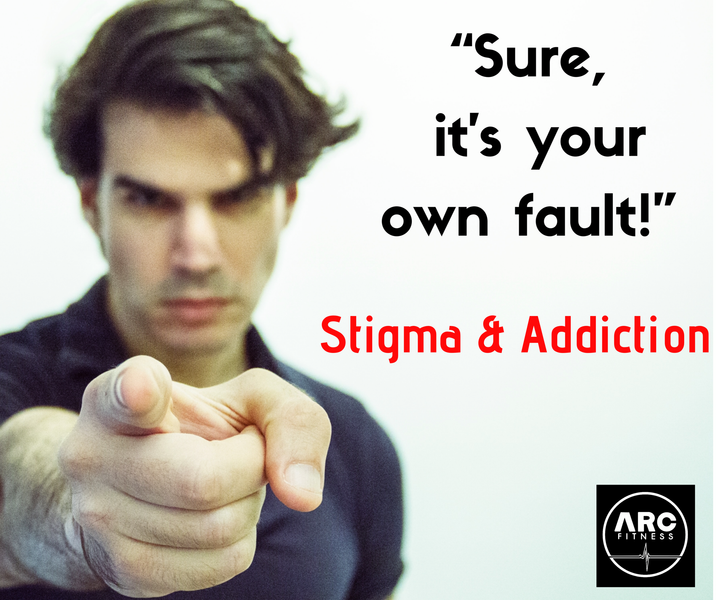 Stigma, Substance Misuse and dependance.