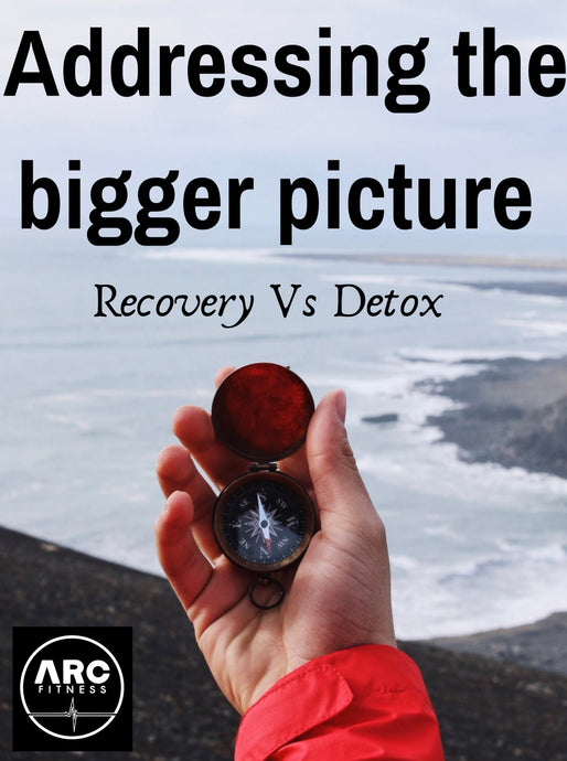 Addressing the Bigger picture.  Recovery vs Detox.