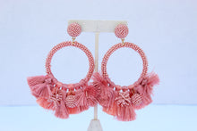 Load image into Gallery viewer, Baru Pink/Coral Earrings