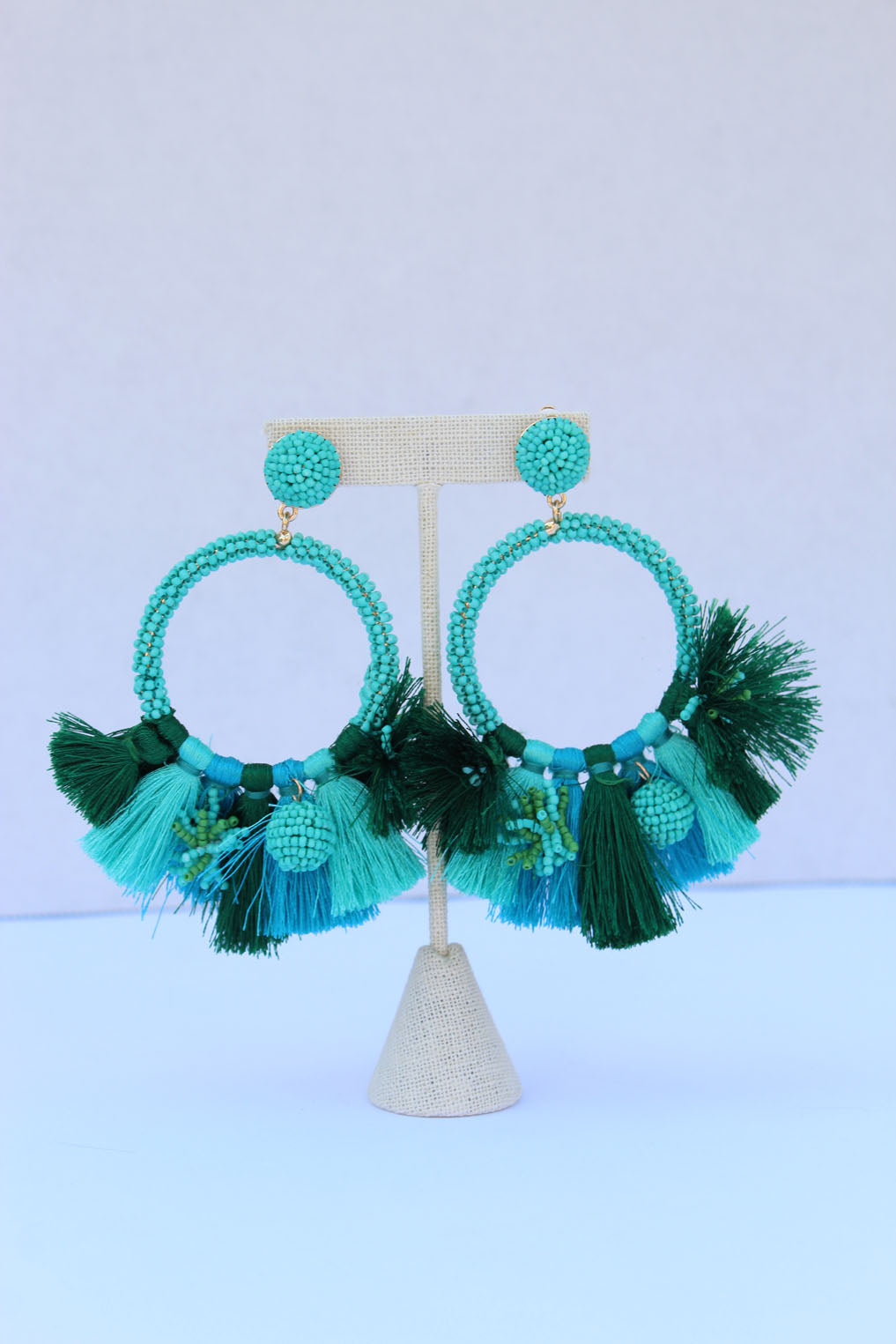 Baru Teal Earrings