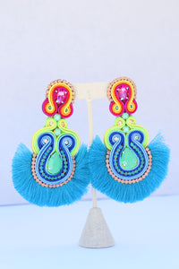 Fiesta Blue Earrings