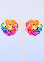 Load image into Gallery viewer, Mini Rainbow Earrings
