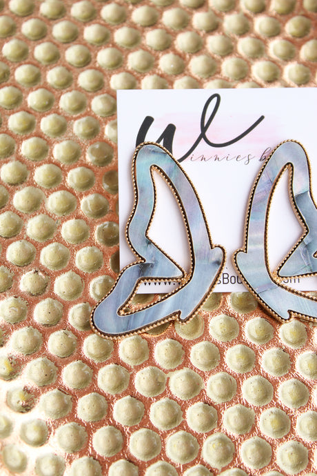 Central Butterfly Earrings