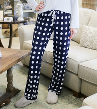 Load image into Gallery viewer, Dottie Navy Pajama Set