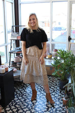 Load image into Gallery viewer, Dots Layered Midi Skirt