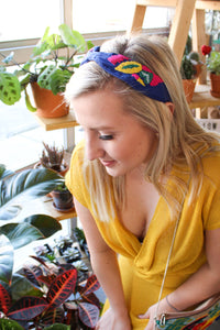 Treasure Jewels Tropical Headband