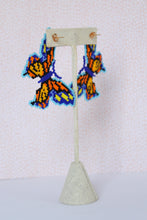 Load image into Gallery viewer, Mariposa Fiesta Butterfly Earrings