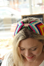 Load image into Gallery viewer, Treasure Jewels Fiesta Striped Headband