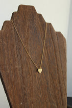 Load image into Gallery viewer, Love You Gold Heart Necklace