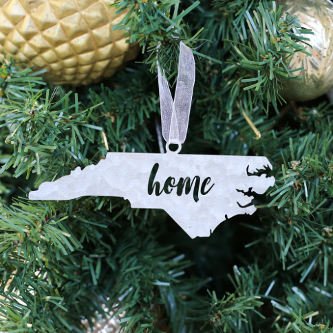 North Carolina Home State Ornament