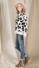 Load image into Gallery viewer, Winnie Leopard Chenille Knit Sweater