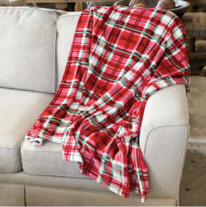 Alpine Plaid Throw Blanket