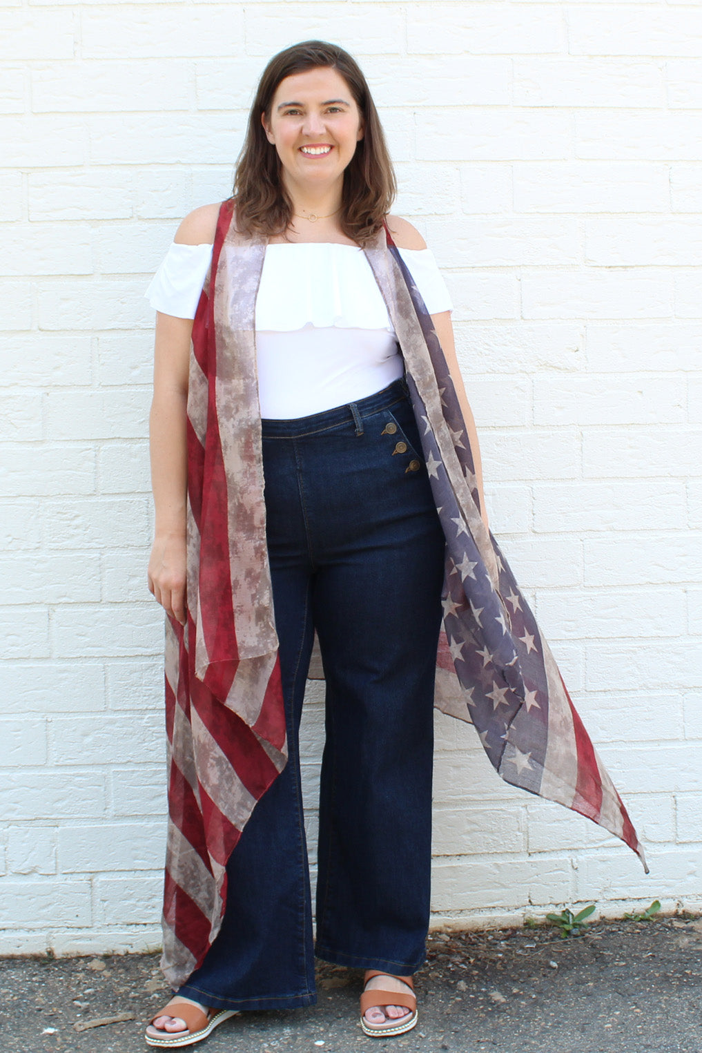 American Flag Duster