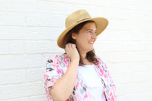 Load image into Gallery viewer, Natural Panama Straw Hat