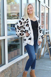 Dreamily Soft Animal Print Cardigan