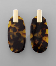 Load image into Gallery viewer, Betsy Tortoise Earrings