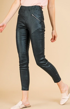 Load image into Gallery viewer, Bethany Black Motto Leggings