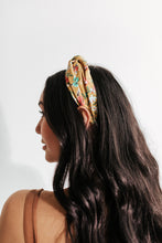 Load image into Gallery viewer, Wildflower Knotted Headband