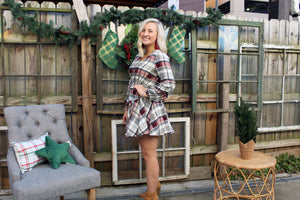 Merry Plaid Dress