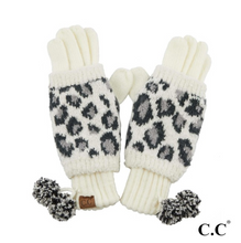 Load image into Gallery viewer, CC Leopard Gloves