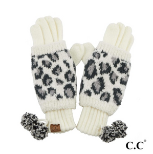 CC Leopard Gloves