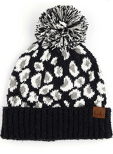Load image into Gallery viewer, CC Leopard Beanie