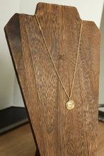 Load image into Gallery viewer, Gold Coin Necklace
