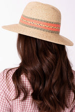 Load image into Gallery viewer, Summer Panama Straw Hat