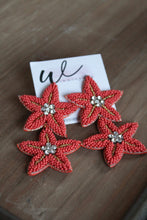 Load image into Gallery viewer, Coral Starfish Earrings