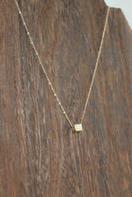 Load image into Gallery viewer, Cubed Stone Necklace