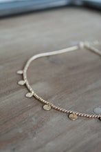 Load image into Gallery viewer, Dainty Disc Necklace