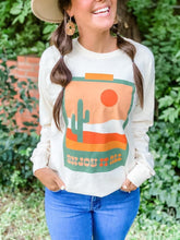 Load image into Gallery viewer, Enjoy It All Cactus Long Sleeve Shirt