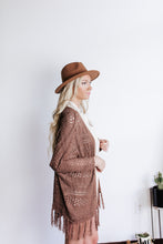 Load image into Gallery viewer, Fringe Crochet Knit Cardigan