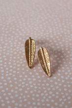 Load image into Gallery viewer, Feather Stud Earrings