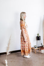 Load image into Gallery viewer, Spiced Floral Maxi Dress