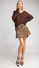 Load image into Gallery viewer, Like Yesterday Leopard Skort